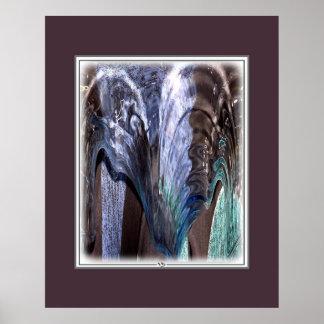 WATER VASE FLOW 13/528 POSTER