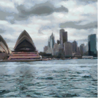 Water view of Sydney Statuette