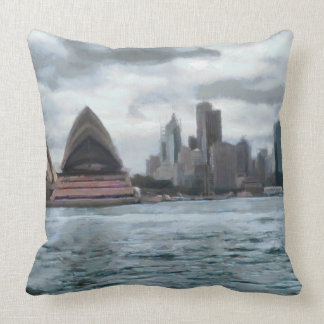 Water view of Sydney Throw Pillow