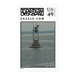 Water view Stamford, Ct Postage Stamp