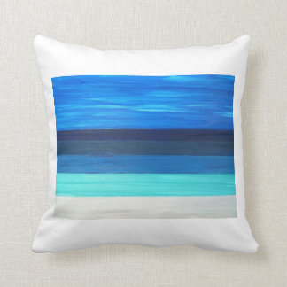 """Water View"" Throw Pillow"