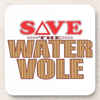 Water Vole Save Beverage Coaster