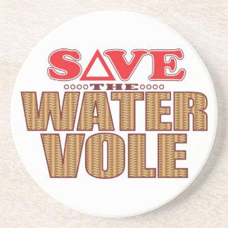 Water Vole Save Drink Coaster
