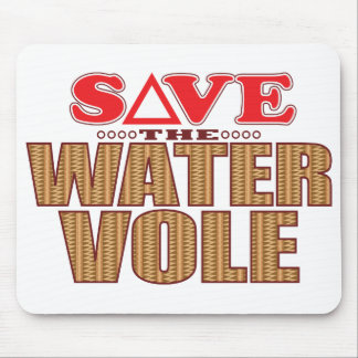 Water Vole Save Mouse Pad