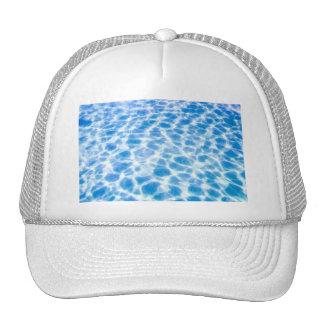 water-wallpaper CLEAR BLUE OCEAN RIPPLES WATER PHO Trucker Hat
