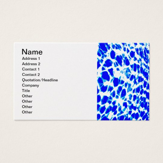 water-wallpaper_royal blue white business card