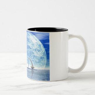 Water Water Everywhere Two-Tone Coffee Mug