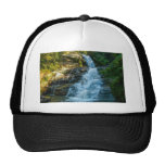 Water Waterfall Nature Park Country Destiny Mesh Hat