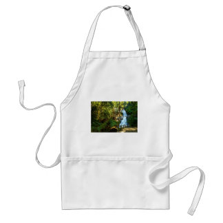 Water Waterfall Park Country Peace Love Destiny Adult Apron