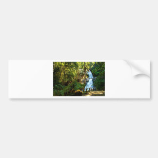 Water Waterfall Park Country Peace Love Destiny Car Bumper Sticker