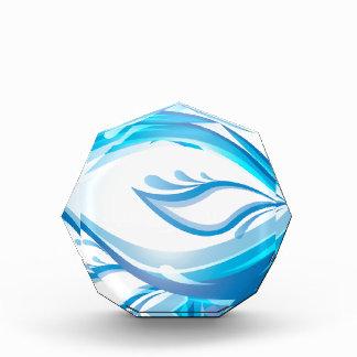 Water Wave Acrylic Award