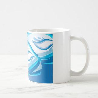 Water Wave Classic White Coffee Mug