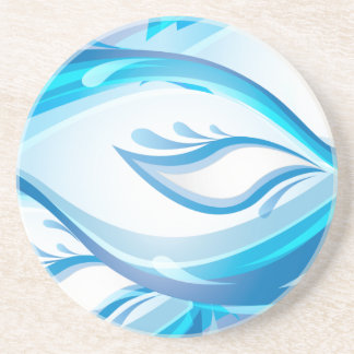 Water Wave Drink Coaster