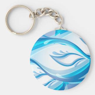 Water Wave Keychain