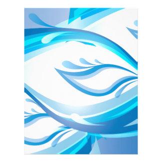 Water Wave Letterhead