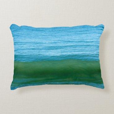Beach Themed Water/Wave/Ocean Decorative Pillow