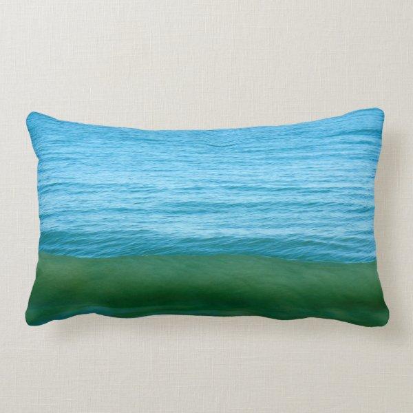 Water/Wave/Ocean Lumbar Pillow