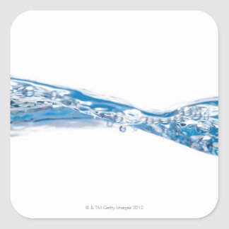 Water waves and bubbles stickers