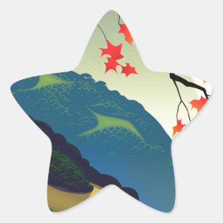 Water Way (left) Star Sticker