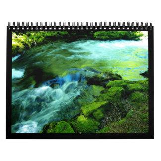 Water ways of the Northwest Calendar