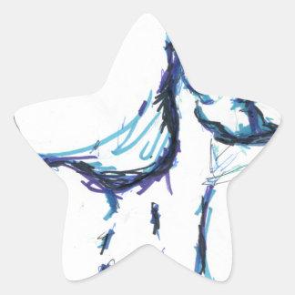 Water Weaver Star Sticker