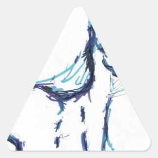 Water Weaver Triangle Sticker