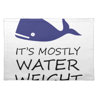 Water Weight Placemat