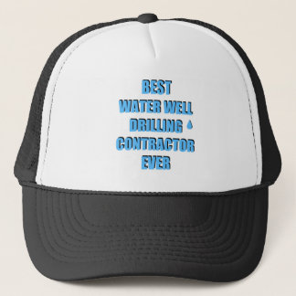Water Well Drilling Contractor Trucker Hat