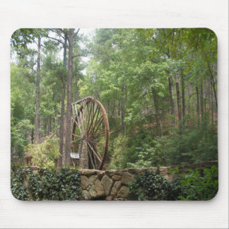 Water Wheel Mouse Pad