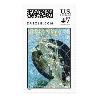 Water Wheel Postage