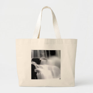 Water White Stepping Stones Canvas Bags