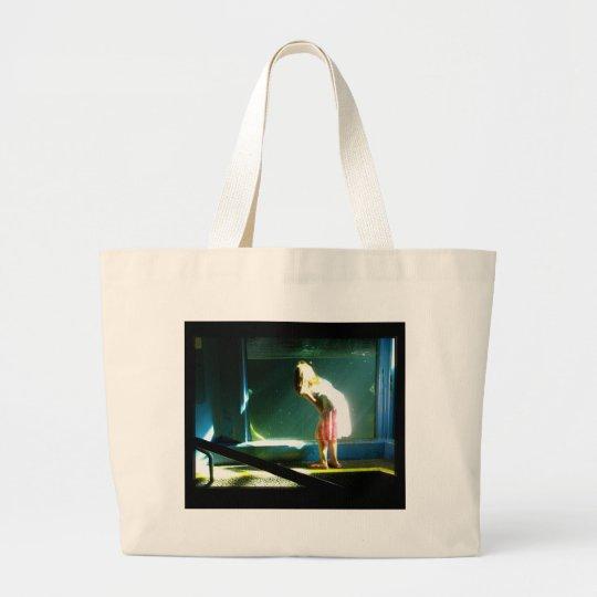 Water Window Large Tote Bag