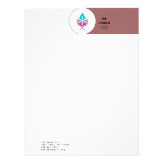 Water & Wine Miracle / A1 / Letterhead