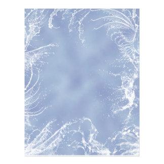Water Wings Design Letterhead