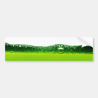 Water with bubbles bumper sticker
