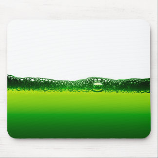 Water with bubbles mouse pad