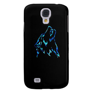 water wolf galaxy s4 cover