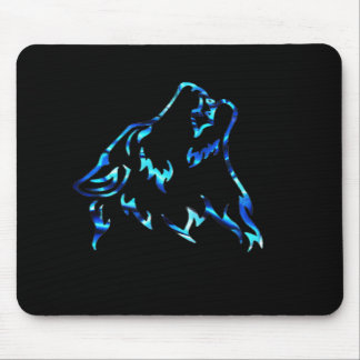 water wolf mousepad
