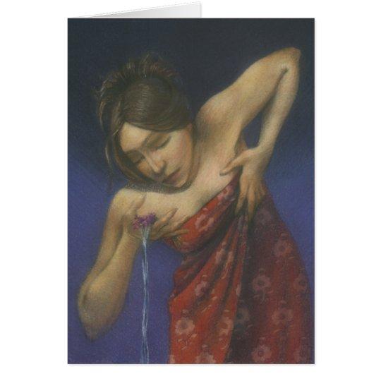 Water Woman Card