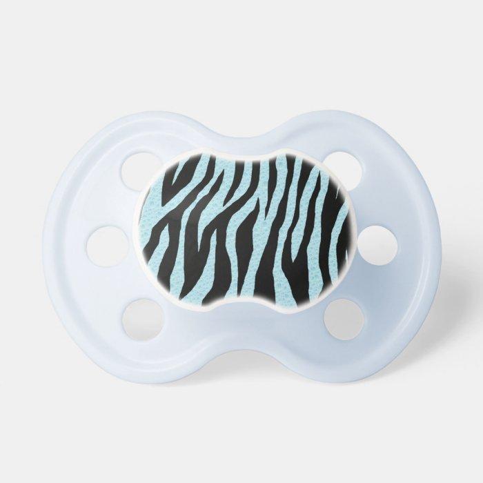 Water Zebra Print Pacifier