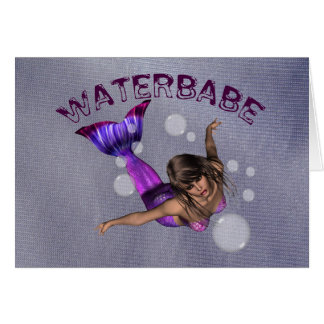 Waterbabe Card