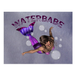Waterbabe Postcard