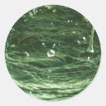 Waterball Etiqueta Redonda