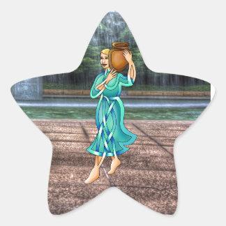 Waterbearer Star Sticker