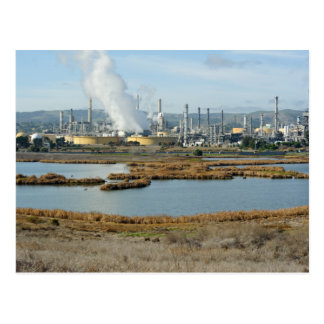 Waterbird Regional Park and Shell Refinery Postcard