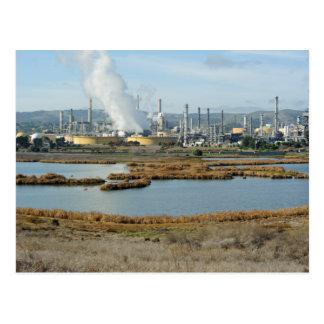 Waterbird Regional Park and Shell Refinery Postcard