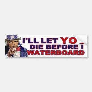 Waterboard or Die Bumper Stickers