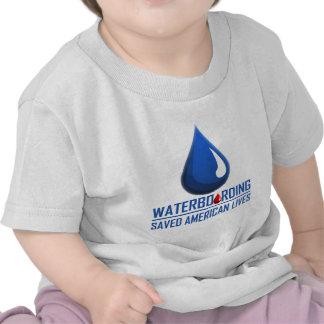 Waterboarding Camisetas