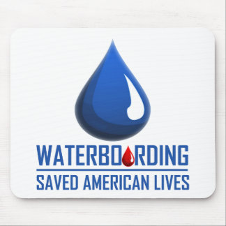 Waterboarding Mouse Pad
