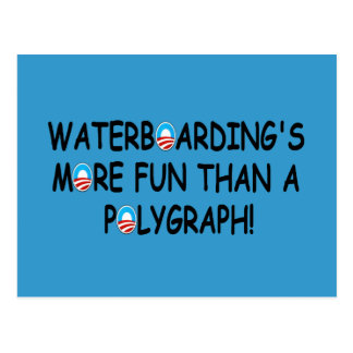 Waterboarding Post Cards